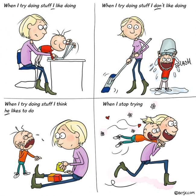 roditelj 4 15 simpatičnih ilustracija u kojima će se svaki roditelj pronaći