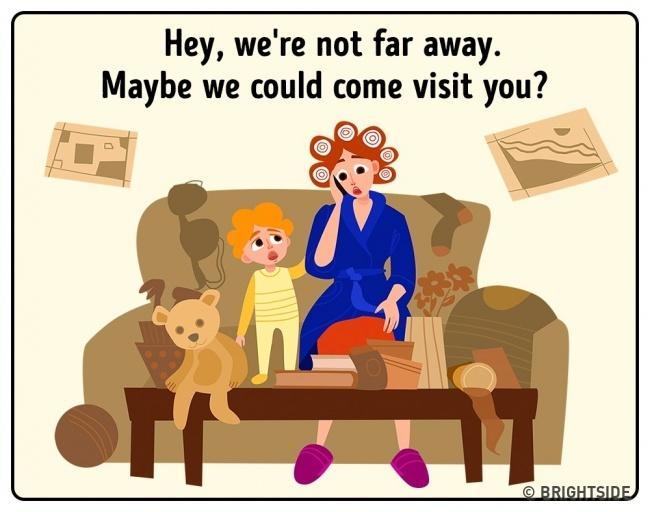 2 14 situacija u kojima će se svaka mama pronaći (ILUSTRACIJE)
