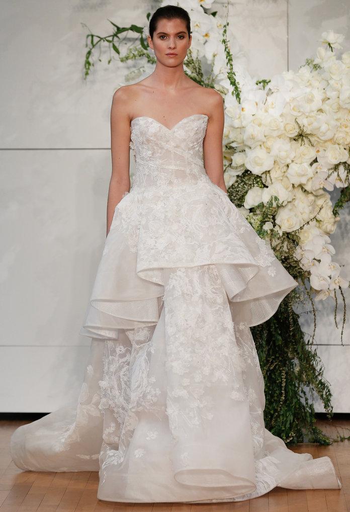 MONIQUE LHUILLIER Bridal Fashion Week Spring 2018: Sve venčanice u koje smo se zaljubile na prvi pogled