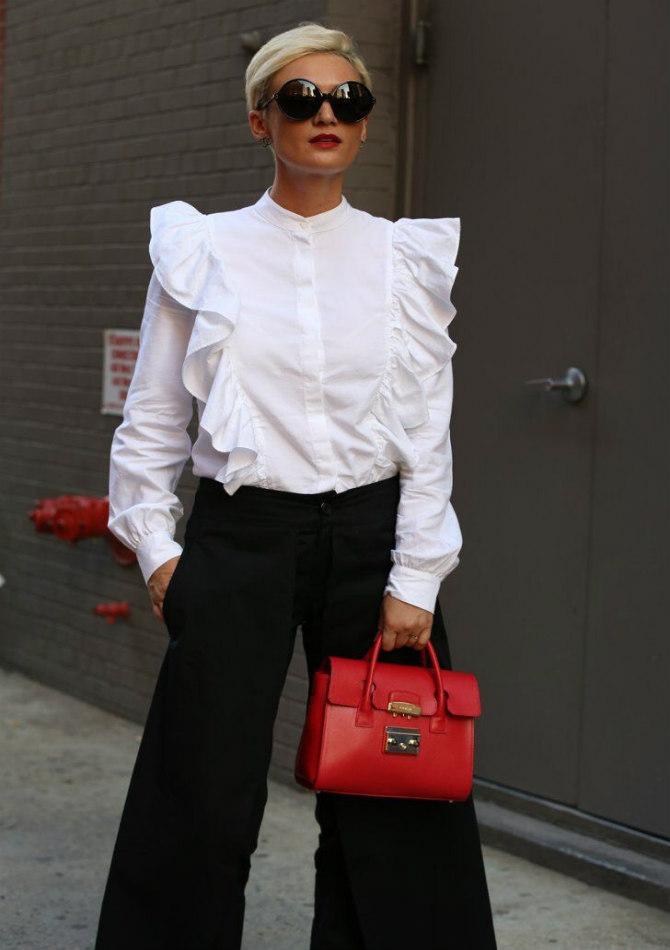 bluza i pantalone 2 8 odevnih kombinacija koje možeš da nosiš na venčanjima ove jeseni