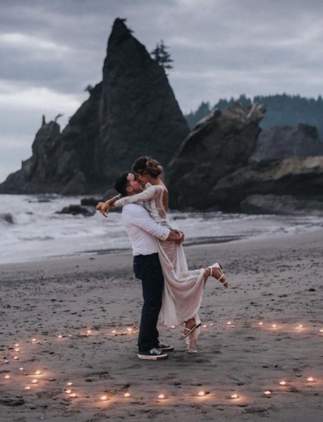 Razlozi da se odlučiš za venčanje na otvorenom