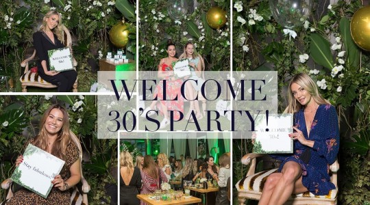 Welcome 30s Party