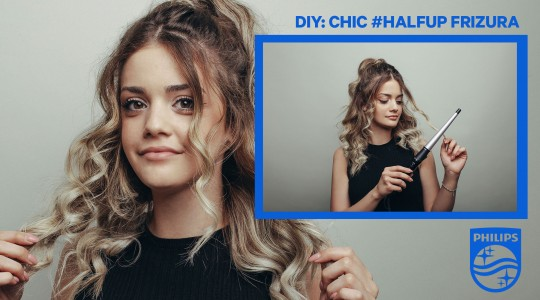 DIY: Chic #halfup frizura