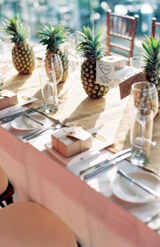Maštovite dekoracije stola sa voćem