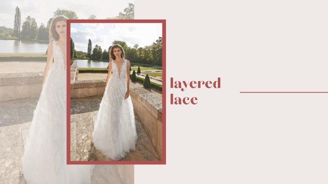layered lace Nove venčanice Galie Lahav za 2020. koje će sve mlade želeti!