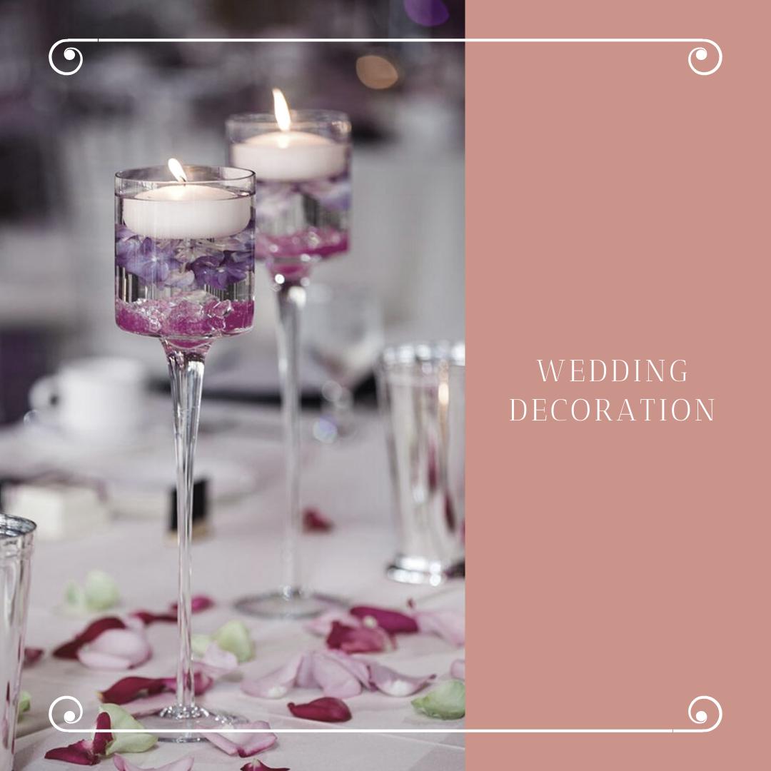 Čarobna dekoracija za venčanje sveće u čašama i fenjerima 2 Čarobna dekoracija za venčanje   sveće u čašama i fenjerima