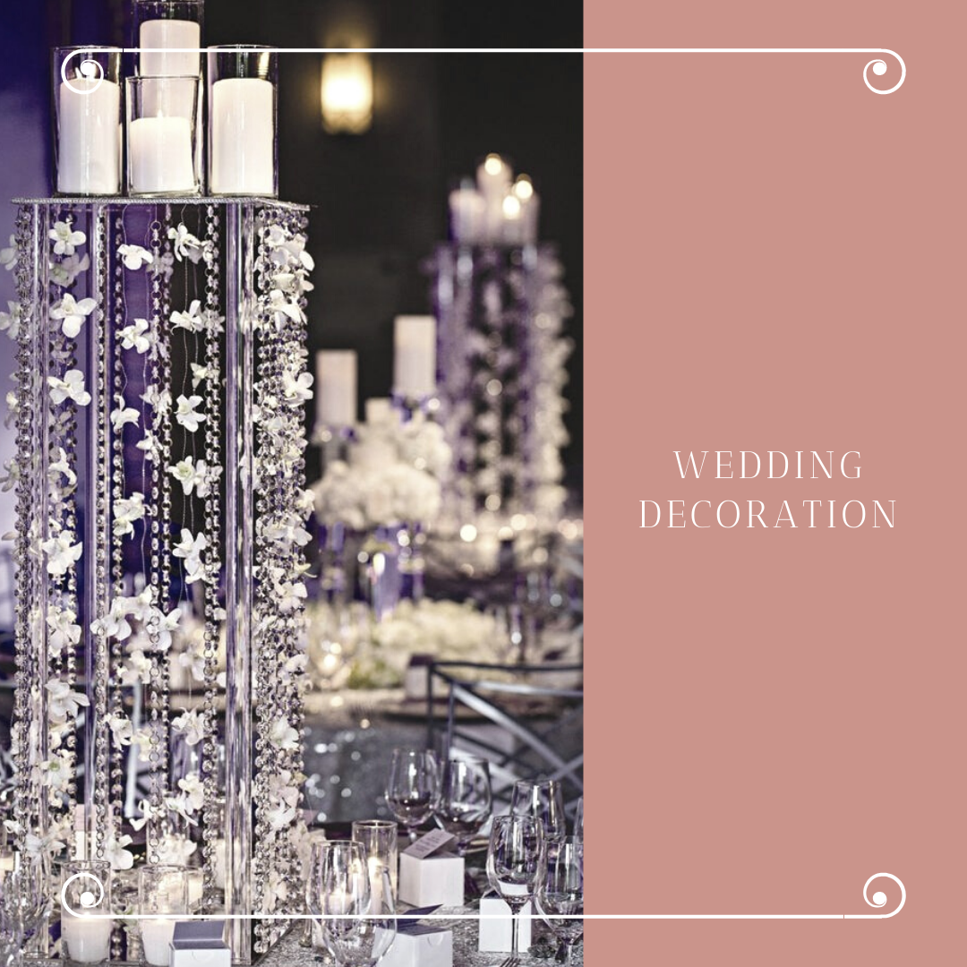 Čarobna dekoracija za venčanje sveće u čašama i fenjerima 3 Čarobna dekoracija za venčanje   sveće u čašama i fenjerima