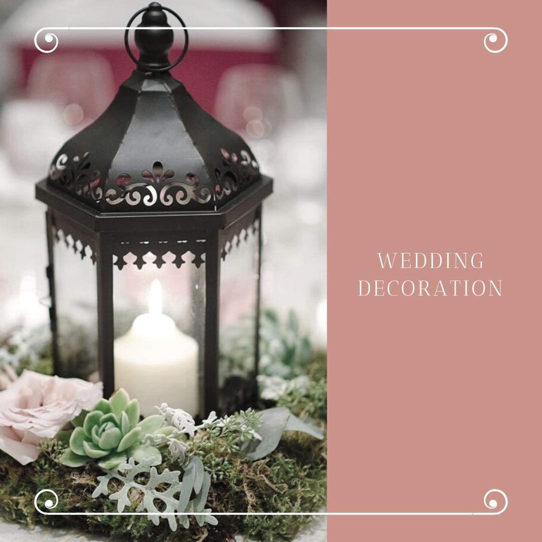 Čarobna dekoracija za venčanje sveće u čašama i fenjerima 5 Čarobna dekoracija za venčanje   sveće u čašama i fenjerima