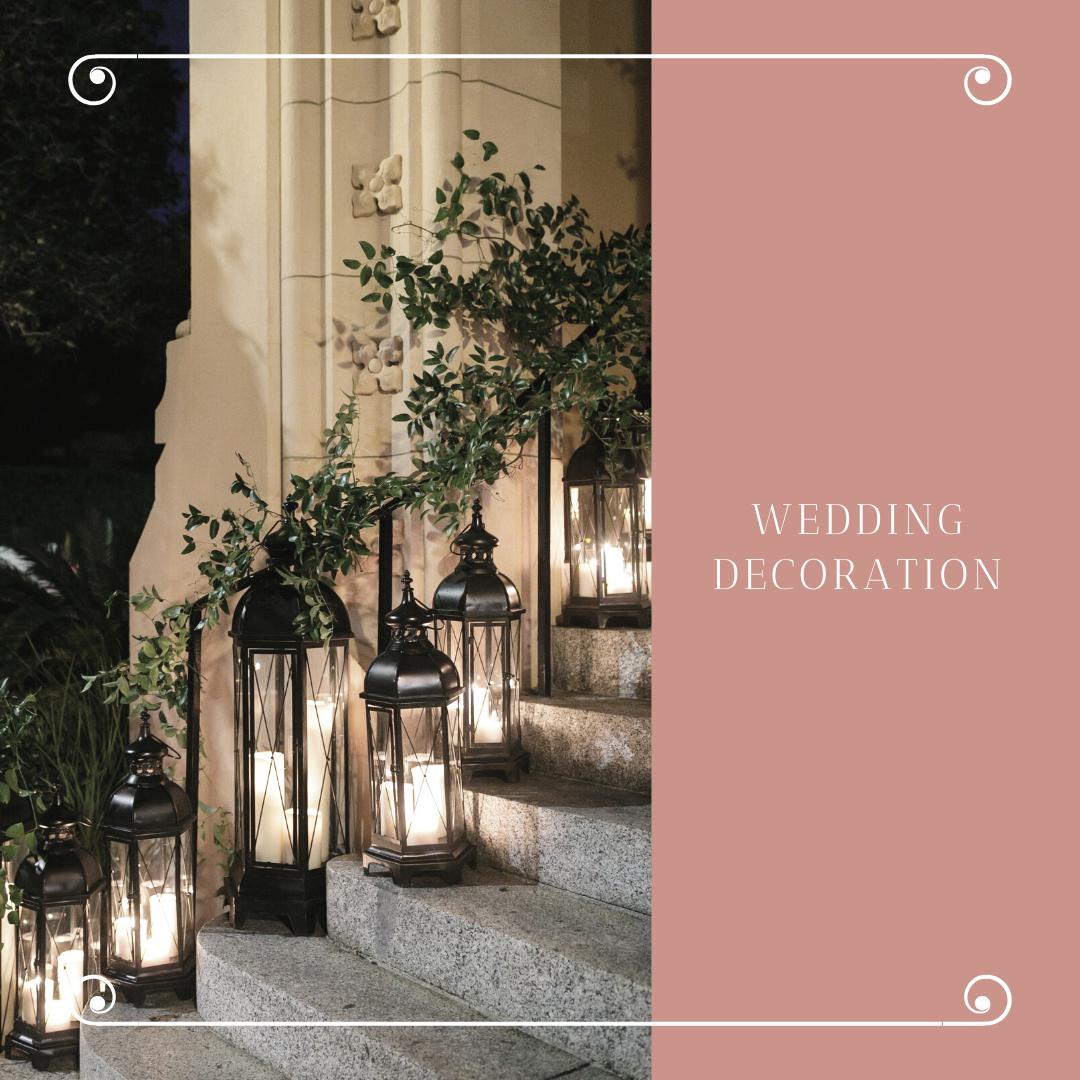 Čarobna dekoracija za venčanje sveće u čašama i fenjerima 6 Čarobna dekoracija za venčanje   sveće u čašama i fenjerima