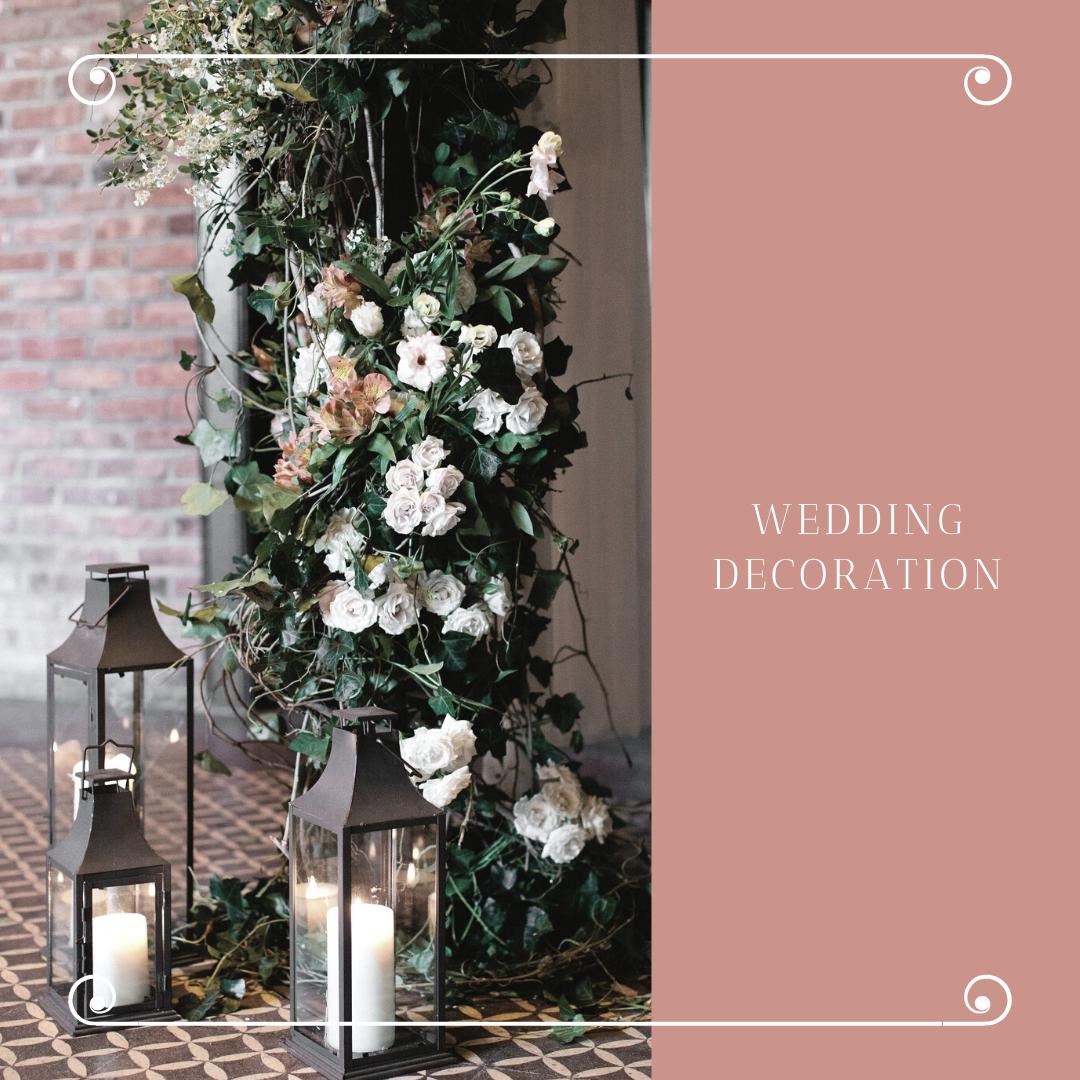 Čarobna dekoracija za venčanje sveće u čašama i fenjerima 7 Čarobna dekoracija za venčanje   sveće u čašama i fenjerima