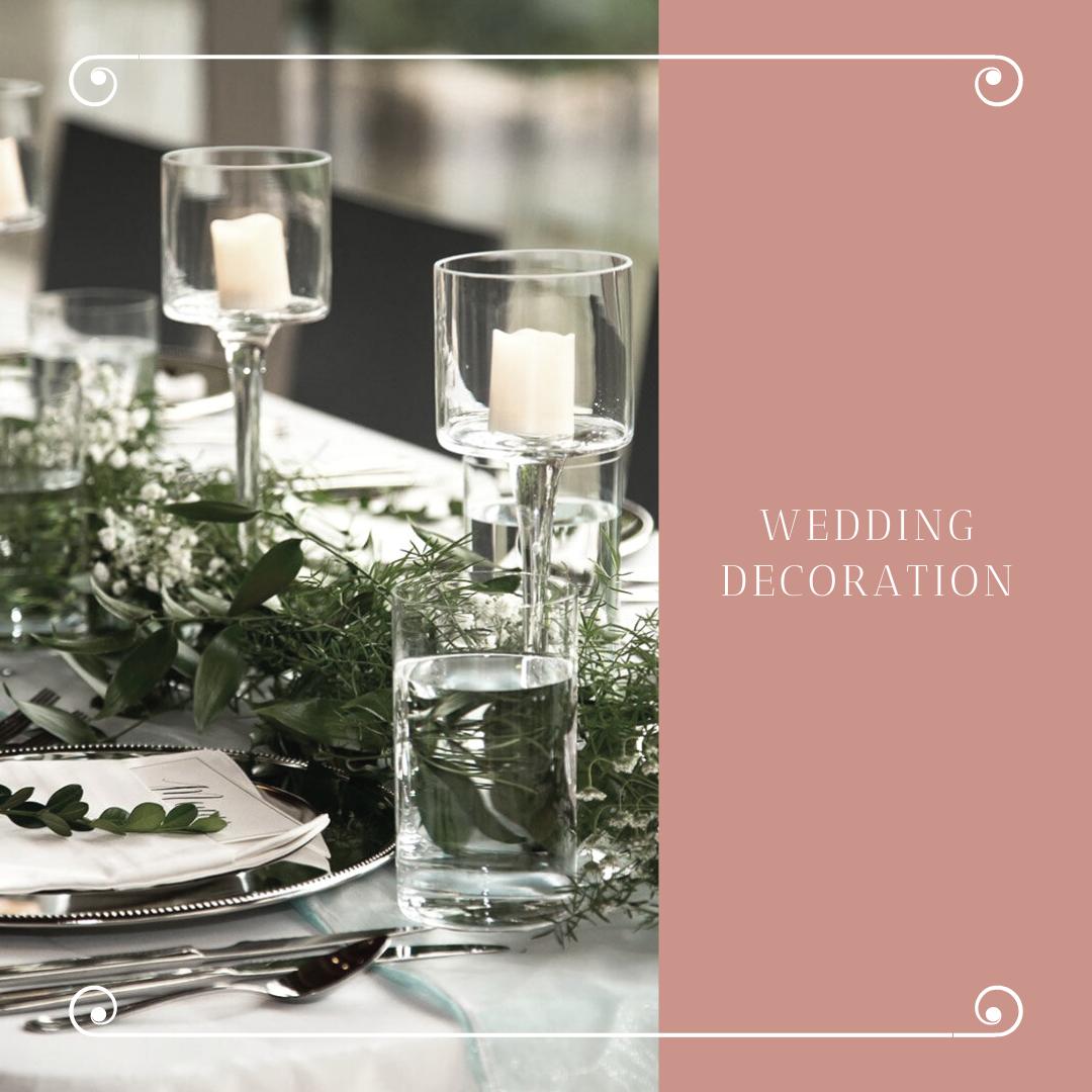 Čarobna dekoracija za venčanje sveće u čašama i fenjerima 8 Čarobna dekoracija za venčanje   sveće u čašama i fenjerima