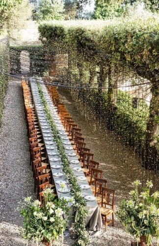 Kako da upotrebiš drvo kao dekoraciju za venčanje